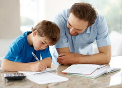 How to help your child study well